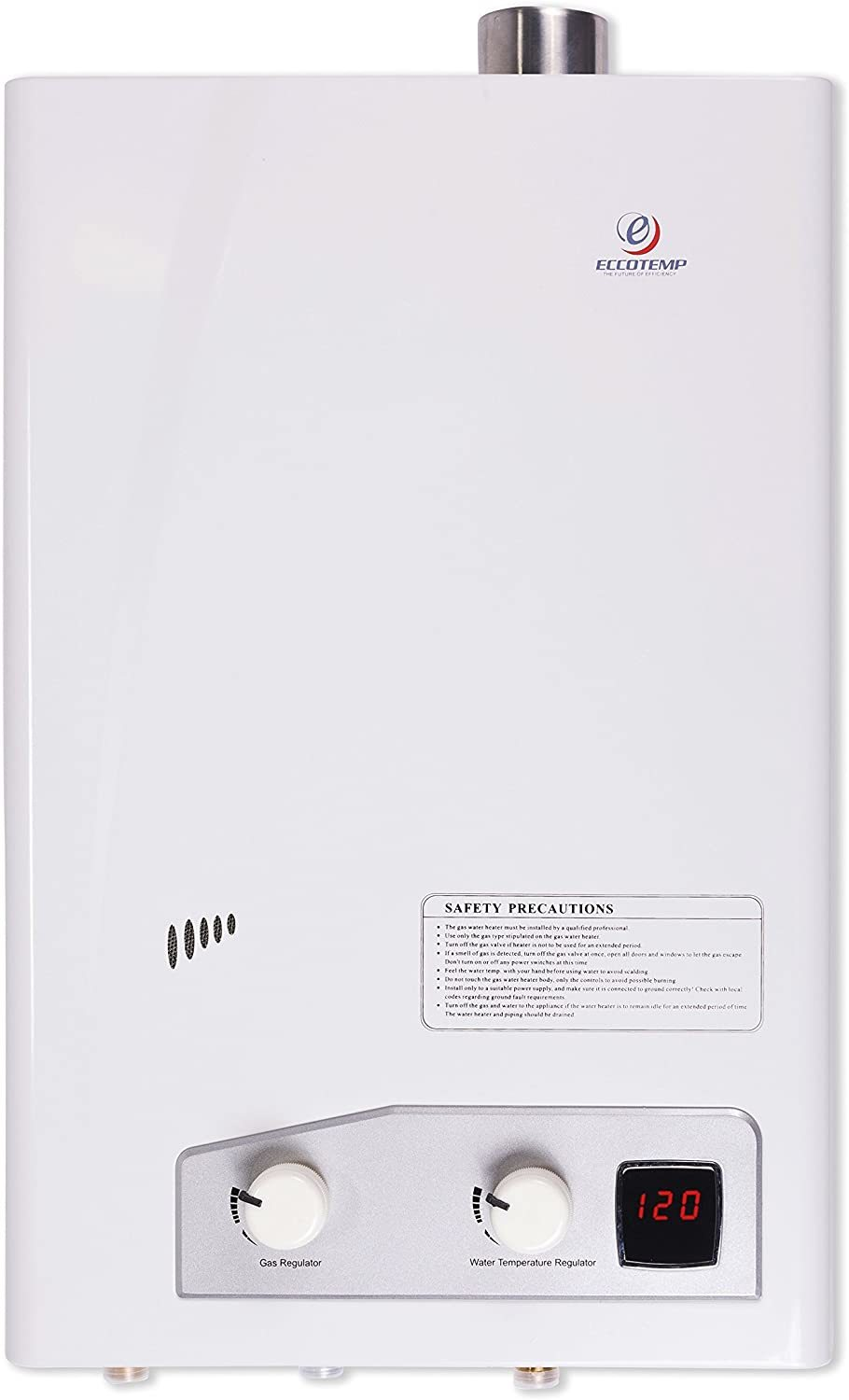 Eccotemp FVI-12-NG High-Capacity Gas Tankless Water Heater Review