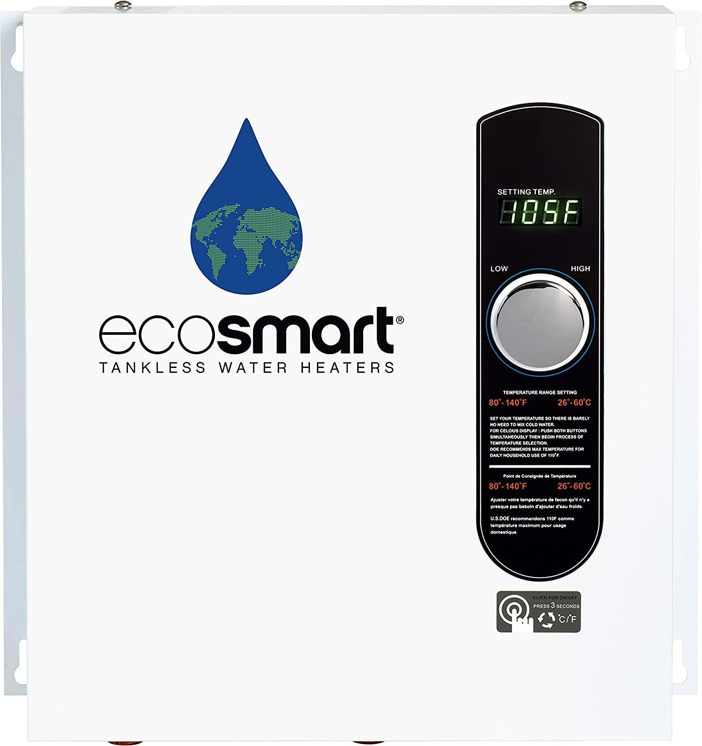 EcoSmart ECO27 Electric Tankless Water Heater Review