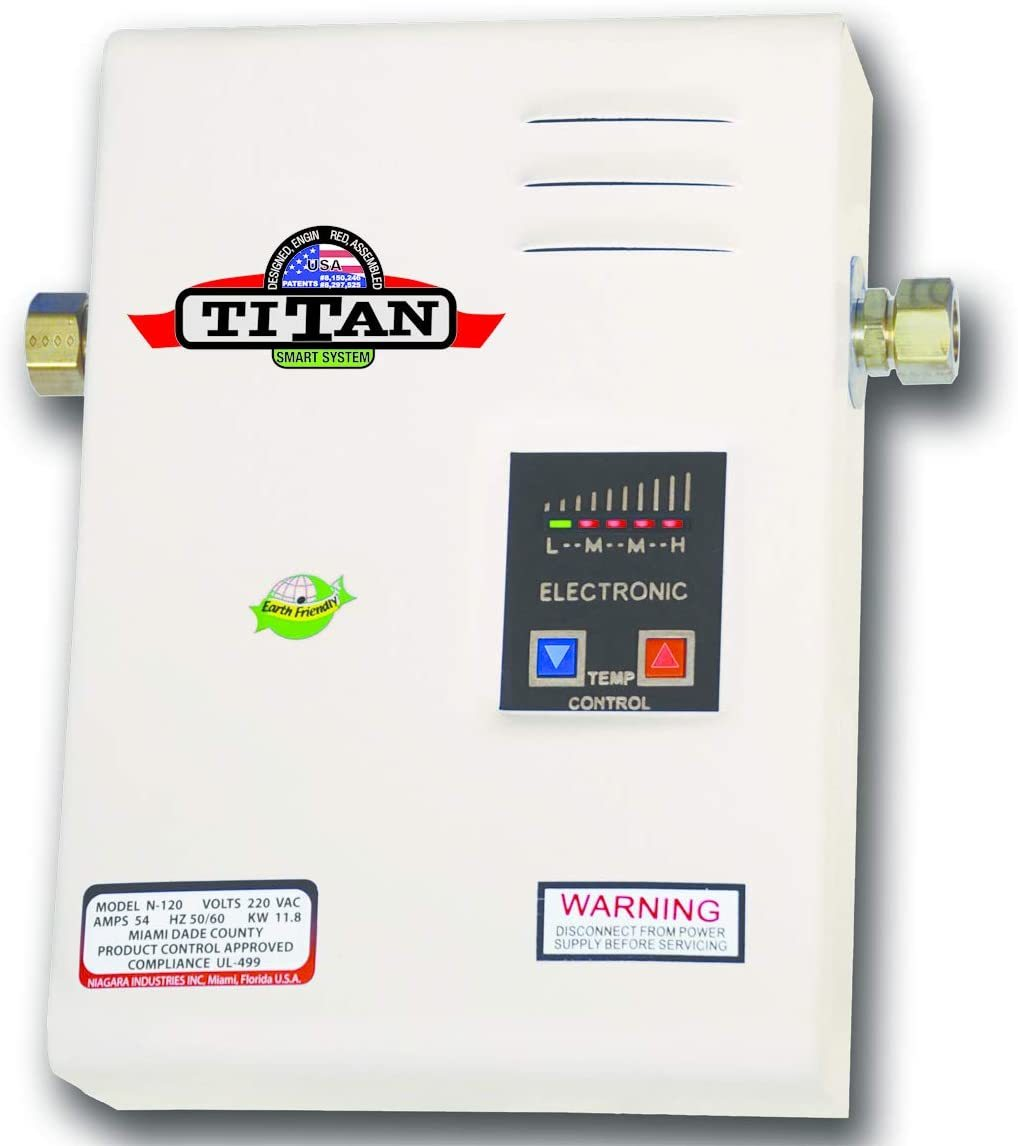 Titan SCR2 N-120 Electric Tankless Water Heater Review